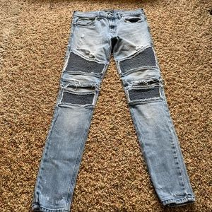 Pacsun men stacked skinny jeans
